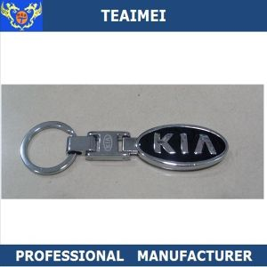 3D Metal Car Keychain Gift Key Chain Rings