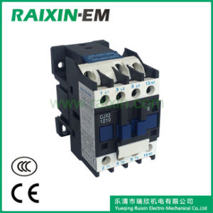 Raixin Cjx2-1210 AC Contactor Electrical Contactor 3p AC-3 380V 5.5kw Magnetic Contactor