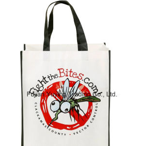 Handle Non Woven Shopping Bag with Customized Printing