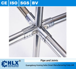Work Table Stainless Steel Pipe with Connectors Hlx-PP010 pictures & photos