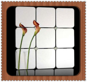 China Modern Designs Bathroom Mirror Tile pictures & photos