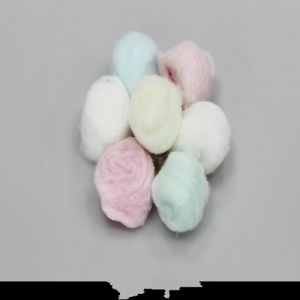 Colorful Cotton Ball for Medical Use pictures & photos