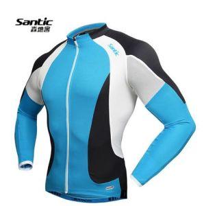 Santic Men Cycling Jerseys Bike Riding Jackets Bicycle Cycling Jersey L-2XL