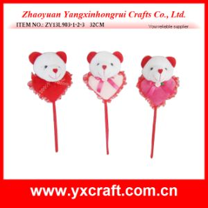 Valentine Decoration (ZY13L903-1-2-3) Valentine Bear Wedding Decoration pictures & photos