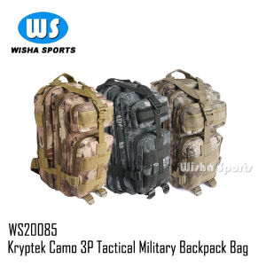 2014 Newest Krypteck Camo Color for 3p Molle Assault Tactical Military Backpack Bag