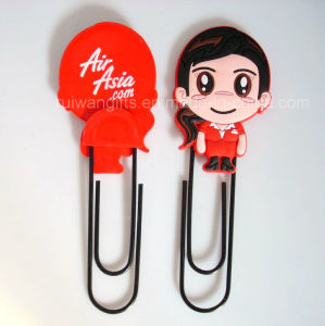 Custom Silicone Paper Clip for Promotional pictures & photos