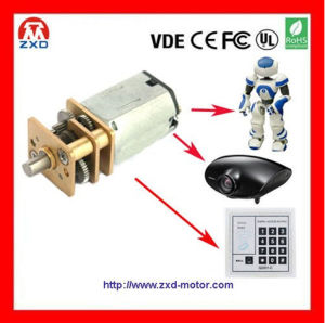 12 Volt DC Gear Motor 12mm 1500rpm Electronic Lock