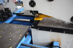 CNC Punching, Marking and Drilling Machine for Metal Plates pictures & photos