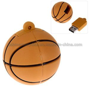 Unique Basketball Shaped USB 2.0 Memory Stick Pendrive (CT-020)