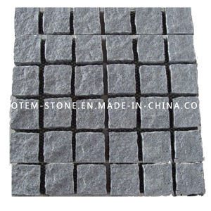 Natural Cobblestone Granite Block Paver for Outdoor Patio, Driveway, Garden