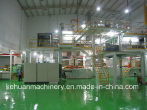 2.4m Single S New Technology PP Non Woven Fabric Making Plant pictures & photos