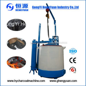 Easy Operate Biomass Wood Bamboo Charcoal Making Machine