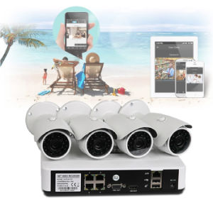 DIY IP Camera with NVR Recorder Kit (NK-1004P)
