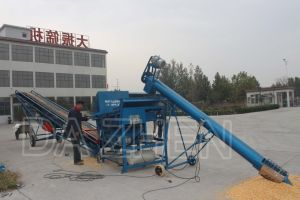 Liftable and Lowerable Grain Auger Specialized for Grain Transportation