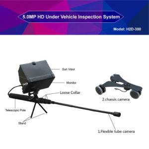 "7"" Screen 1080P 64GB Memory Digital Car Surveillance System for Vehicle Security Checking with 2m Adjustable Pole pictures & photos"