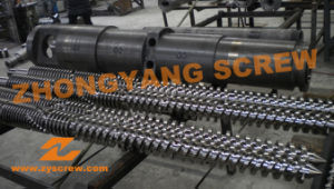 WPC Sheet Profile Conical Twin Screw and Barrel pictures & photos