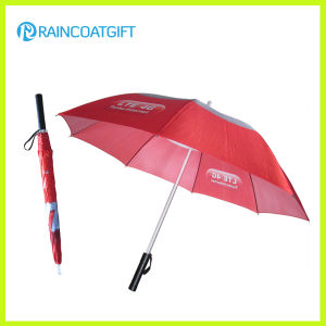 "23"" Inches Red LED Shaft Golf Umbrella"