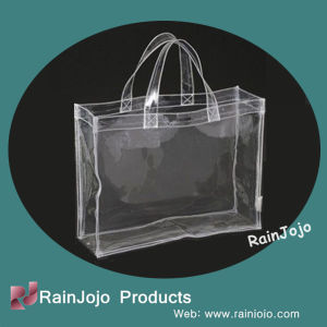 Cheap High Quality Clear PVC Shopping Bag for Promotion pictures & photos
