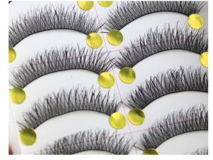 Natural Thick Cross Custom False Eyelash