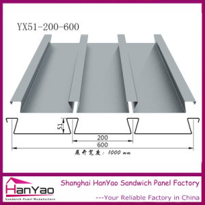 Yx51-200-600 Galvanized Steel Floor Bearing Plate pictures & photos