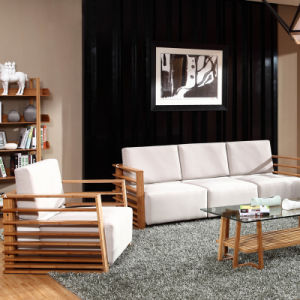 China Solid Bamboo Sofa for Living Room pictures & photos
