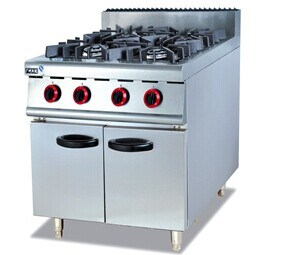 Gas Range with Cabinet for Kitchen Use (GH-987) pictures & photos