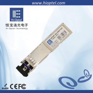 CWDM SFP 155M~2.5G Optical Transceiver Module with DDMI China Factory Supplier