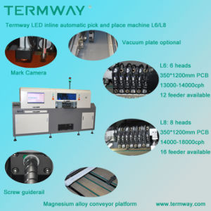 in-Line LED Automatic Chip Mounter/LED Pick and Place Machine pictures & photos