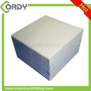 Smooth Milk White PVC 125kHz TK4100 Blank Smart Card