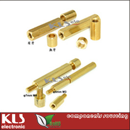 PCB Spacer Support, Nylon or Brass, High 3 4 5 6 7 8 9 10 11 12 13 14 15 16 17 18 19 20 21 22 23 24 25 26 27 28 29 30 31 32 33 34 35 36 Mm, M3 M4 Nut, CE RoHS