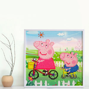 Painting Landscape Train Cross Stitch Home Decoration Full Diamond Embroidery HS