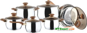 5PCS Aluminium Cookware Set (000002519) pictures & photos