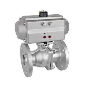 Pneumatic Two-Way Ball Valve (Q641F) pictures & photos