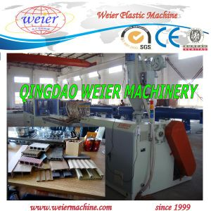 WPC PVC Indoor Ceiling Series Profile Production Machine pictures & photos