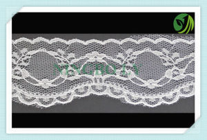 2016 New Elastic or Without Elastic Tricot Lace pictures & photos