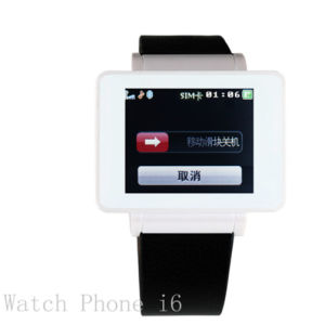Smart Watch Phone with Tiwwer MP3/MP4 (MS008H-I6)