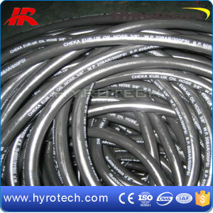 "Hot Sale 1/4""-1"" Smooth Cover Fuel Oil Hose pictures & photos"