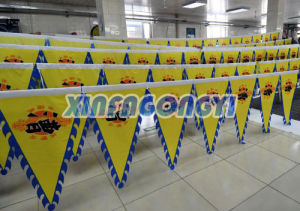 Street Bunting String Flag for Promotion Advertising Activities