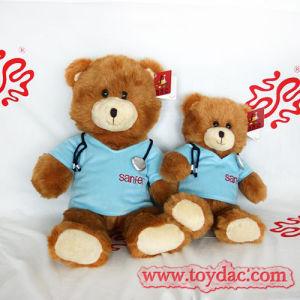 Soft Fur T-Shirt Bear Toy