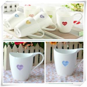 Cheap White Ceramic Tea Cup Coffee Mug Dn-305