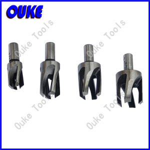 Black Oxide Coating Four Claw Tapered Plug Cutter