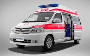 New Modle Jibei 2.4 Petrol Ambulance with Export Exemption