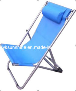 Foldable Reclining Beach Chair (XY-137A) pictures & photos