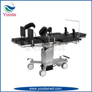 X Ray Hydraulic Operating Table with Kindey Bridge pictures & photos