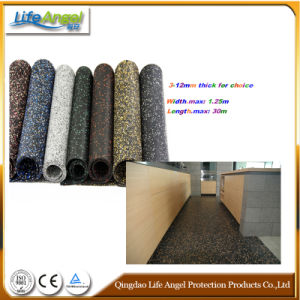 Spray EPDM Rubber Sheet Floor Mat Flooring