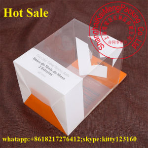 Elegant Design Gift Package Pet Plastic Box Jewelry with Printing
