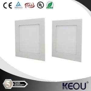 White Square Recessed 6W Diameter120mm LED Ceiling Light pictures & photos