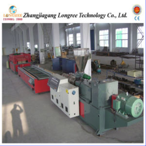 Wood Plastic Door Hollow Board Production Line pictures & photos