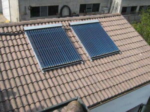 Scm Solar china heat pipe solar collector with solar keymark srcc sr scm