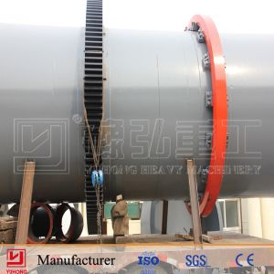 ISO, CE Approved Sawdust Rotary Dryer pictures & photos